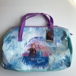 Frozen2 destiny awaits 4-piece duffel luggage set